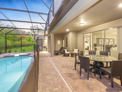 Photo for Brand New Luxury 8Bdr 6Bath With Pvt Pool Hot tub, Game Room close to Disney Parks