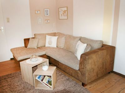 Photo for Lovely apartment for 4 guests with TV, pets allowed and parking