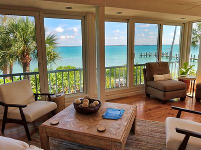 Photo for Charming, Secluded & Quaint Sanibel Vacation Home - Dolphin View