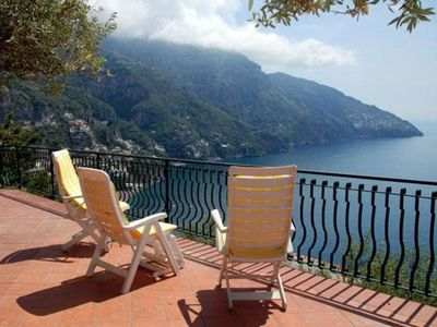 Photo for Agavi Positano  apartment in Arenella with integrated air conditioning, private terrace & lift.