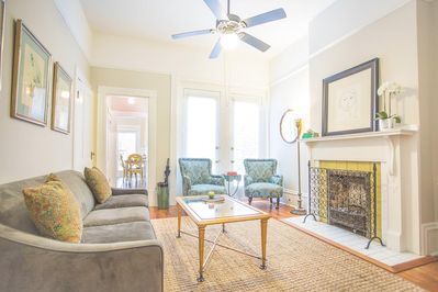 Your sunny parkside apartment awaits!