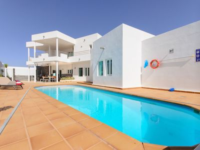 Photo for Luxurious Villa with Panoramic View, Multiple Terraces and Large Pool