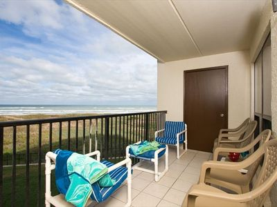 Photo for Beautiful Beach Front Condo -2 BR/2 B Pool_Wifi_Spa_Tennis_CK FALL SPECIALS