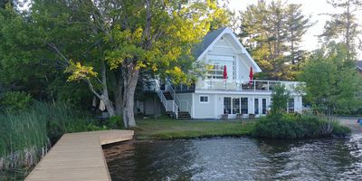 Photo for Upscale Executive Cottage on Beautiful Lake Muskoka - RATE PER NIGHT IS IN US$