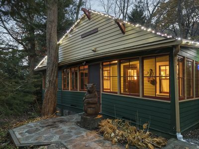 Photo for Charming Creekside Camp in the Laurel Highlands