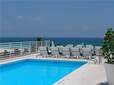 Photo for Oceanfront Condo Suite w/Rooftop Pool & Views - Ocean Drive - South Beach