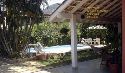 Photo for House / Maresias-R. Private w / Gate-WiFi-Sky-350m beach -see packages