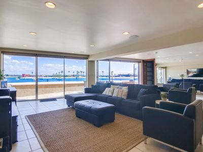 Exclusive Ground Fl Patio • 3 Levels of WaterFront •  A/C