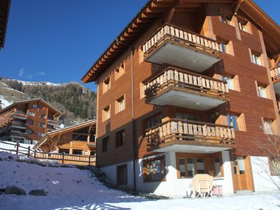 Photo for 2 Bedroom Ski Apartment Next to the Piste and Ski Lifts