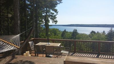 Expansive views overlooking Muscongus Bay