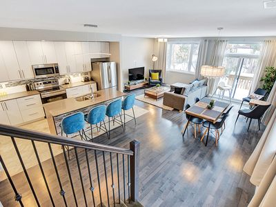 Photo for High-end, family friendly modern home with parking