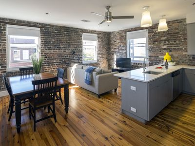 Photo for **NEW LISTING** Historic Meets Modern - 19th Century Broughton St Condo