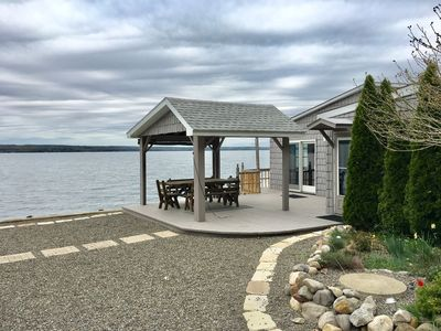 TWO HOUSES DIRECTLY ON THE WATER - 1900sq feet of combine living space