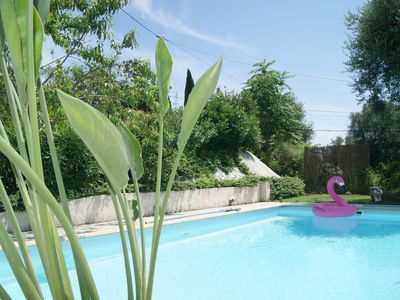 Photo for Villa with pool, quiet and panoramic view, Nice