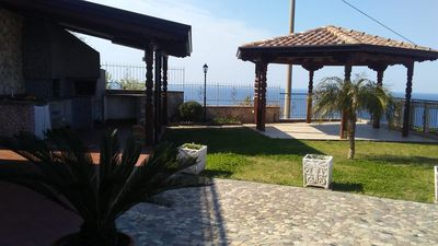 Photo for House with garden, gazebo, barbecue, pizza oven, and a view of Isola Cirella
