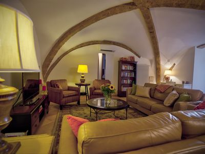 Photo for Fully Restored Lg. Apt in a 16th Century Palace Orvieto Center