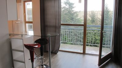 Photo for Nice studio renovated with balcony in quiet and green environment