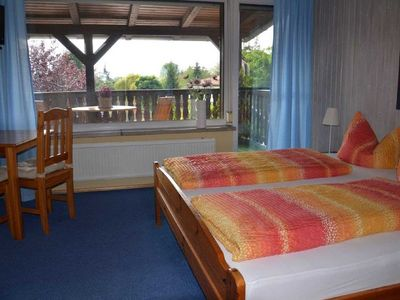 Photo for Double Room with Balcony - Privatzimmer Familie Göring