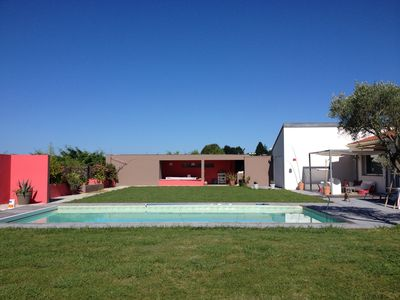 Photo for Villa full foot pool 5mn from the beach and town center