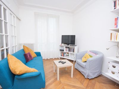 Photo for HostnFly apartments - Charming apartment in the Latin Quarter