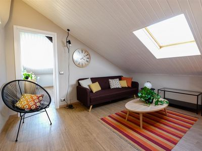Photo for Modern attic with city view in Milan