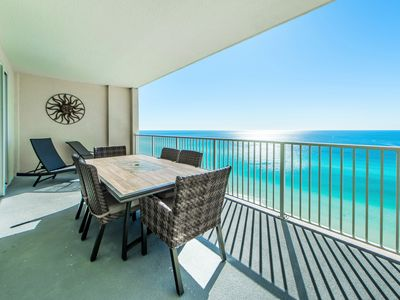 Photo for Ocean Reef 1708-2BR☼GULF Front Balcony☼ Steam Room - OPEN Apr 19 to 21 $606!