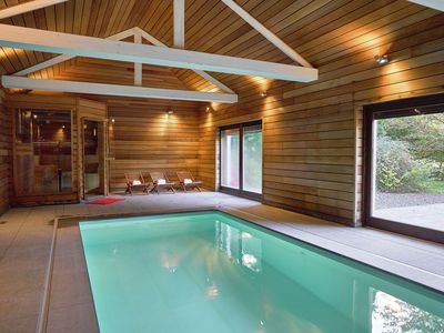 Photo for Luxurious Mansion in Stoumont with Indoor Pool