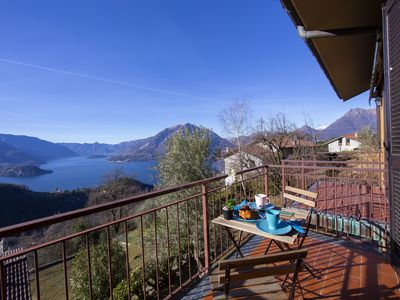 Photo for 1BR Apartment Vacation Rental in Varenna (Perledo)