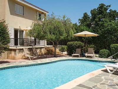 Photo for 2 bed villa with private pool, BBQ, free Wi-Fi and free A/C