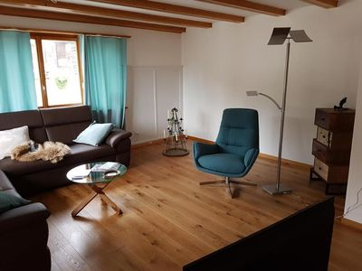 Photo for Holiday apartment Ruschein for 6 persons with 3 bedrooms - Holiday apartment