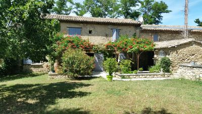 Photo for Provencal farmhouse at the foot of the Luberon