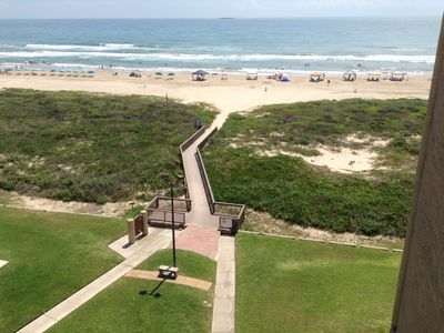 Photo for Beach View Condo Nestled Between Schlitterbahn Water Parks
