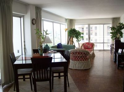 Spacious and Light Filled Rooms