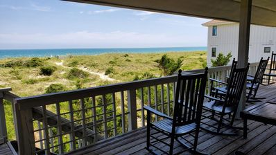 Photo for The perfect oceanfront getaway with panoramic ocean to sound views