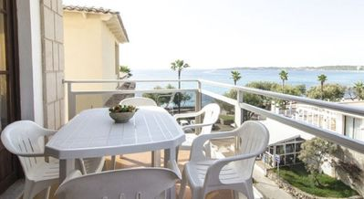 Photo for Apartment 3 bedroom, balcony, 3 mtrs from sea front, stunning sea view, wifi,