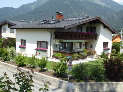 Photo for Holiday apartment on the upper floor with view over 'Fünf-Täler' (five valleys)