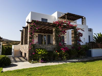 Photo for Aeolos Villa, Traditional Sea View Villa with Private Pool, 200m from the beach