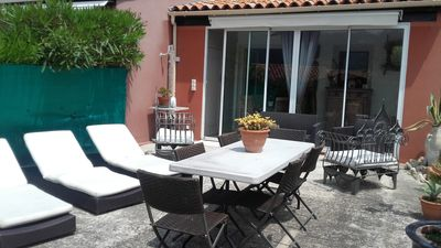 Photo for Apartment t2 type maisonette with garden sea view