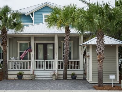Photo for Charming home in Seacrest Beach with inviting back porch