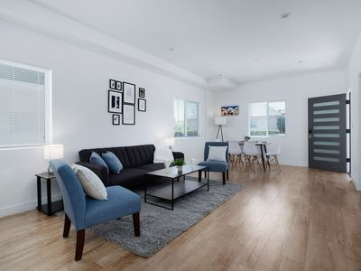 Photo for Newly Built 3 Bedroom LA Townhouse With Gourmet Kitchen and Private Patio