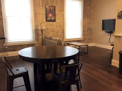 Photo for Mardi Gras New Luxury Apt | French Quarter w Exposed Brick G47