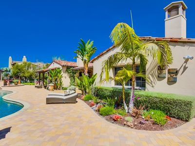 Photo for In gated, luxury community with walking paths  + Pool, hot tub,  BBQ