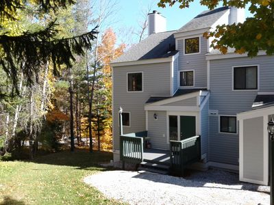 Photo for Okemo,Long MLK Wekend ,Trailside Village Condo, Walk-On Sachem Trail, Great View