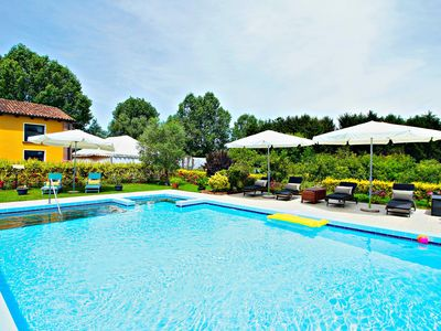 Photo for SANS SOUCI House with pool and fitness studio close to Venice