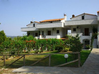 Photo for Villa with sea view, 110 sq.m., 3 bedrooms, Elani Chalkidiki