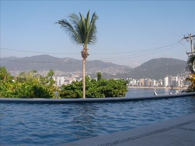 View towards Acapulco Bay.