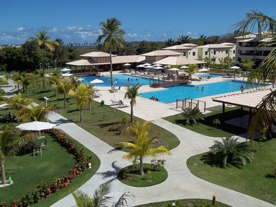 Photo for Apt furnished new, 3 suites w / air, near the beach and excellent entertainment area