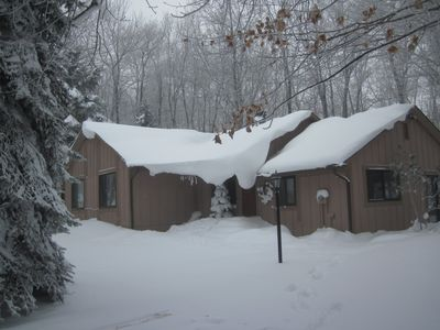 Photo for Well Located Ski/Golf Resort Home on mountain top in Hidden Valley, PA