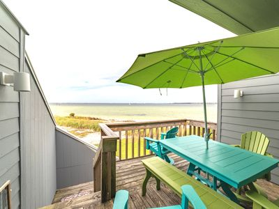 Photo for Quiet & Peaceful Sound Front Town Home! Easy access to the Gulf.