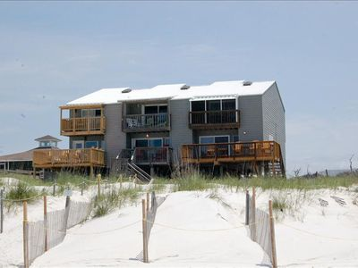 Photo for 2 Bedroom, 2.5 bath, Gulf front, Great views, Pet friendly.